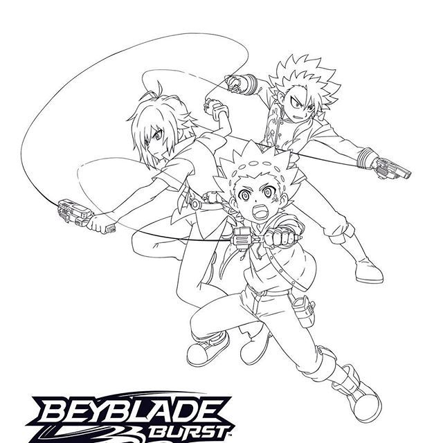 Celebrate National Coloring Book Day With This Epic Beybladeburst