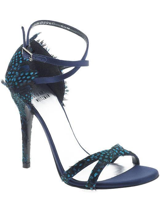 Stuart Weitzman Les plumes Sandal