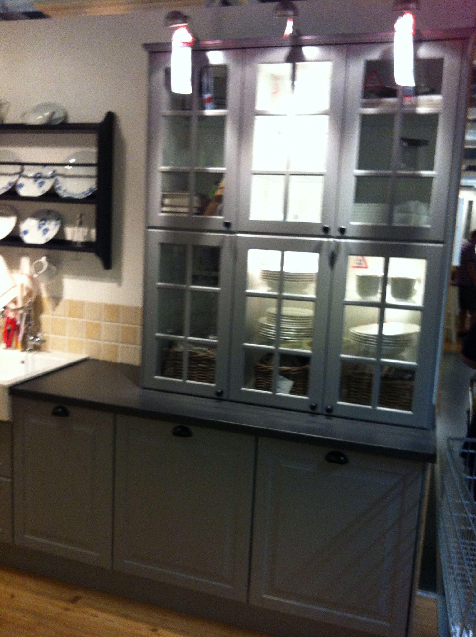 Ikea ideas. Double height wall for a dresser