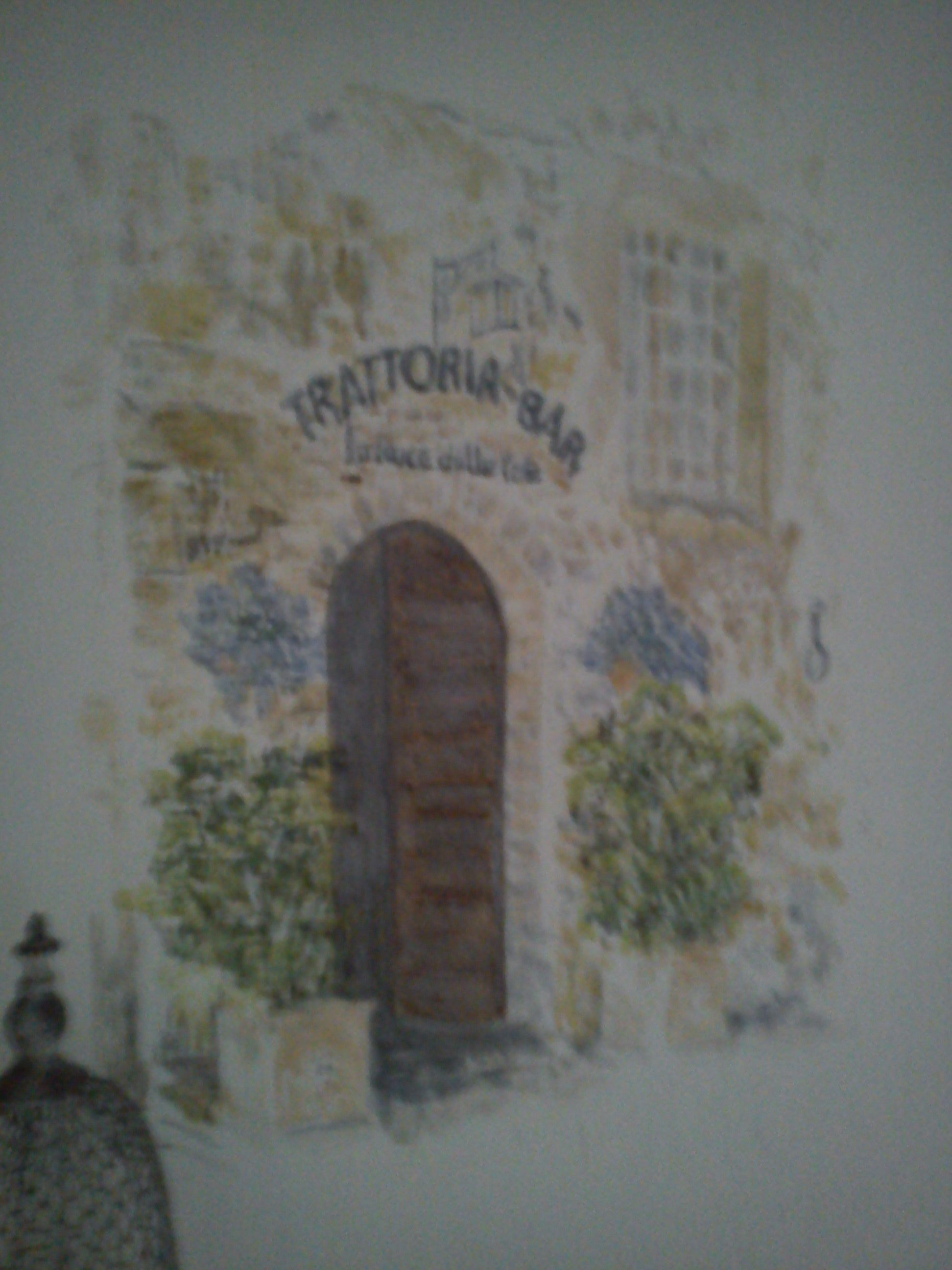 Pienza - på væg