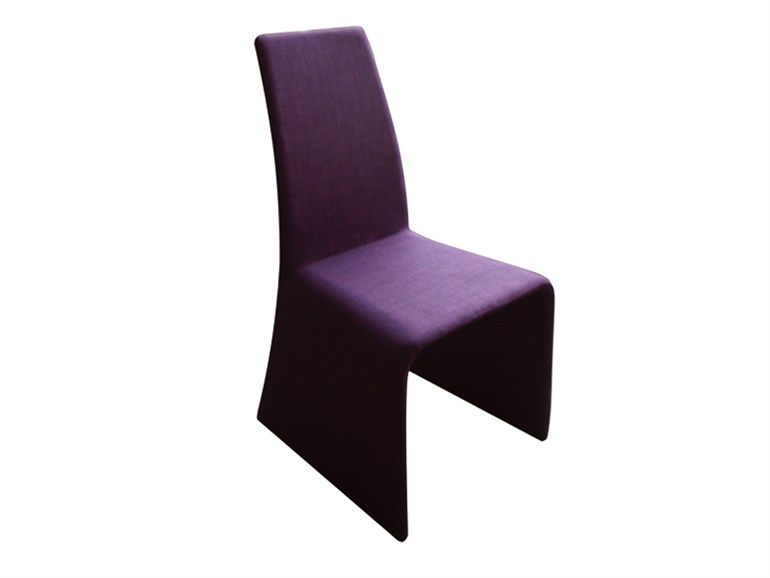 Sedie Tessuto ~ Sedia in tessuto con schienale alto edge chair by dan form