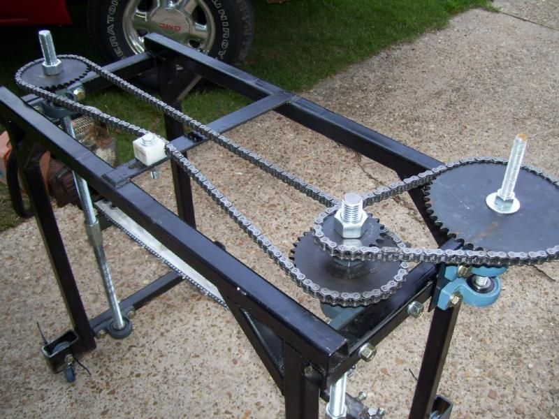 Home-Built Portable Chainsaw Mill | sawmill | Pinterest | Portable ...
