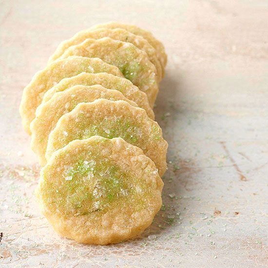Cornmeal-and-Lime Butter Cookies