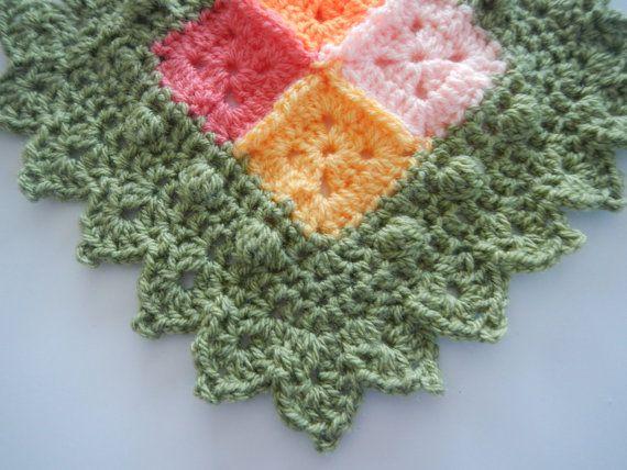 La Vie en Rose Afghan Border/Edging Crochet Pattern ༺✿Teresa ...