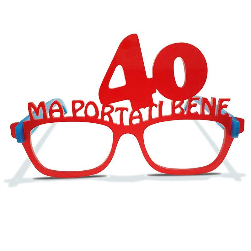COMPLEANNO 21 ANNI occhiali a tema