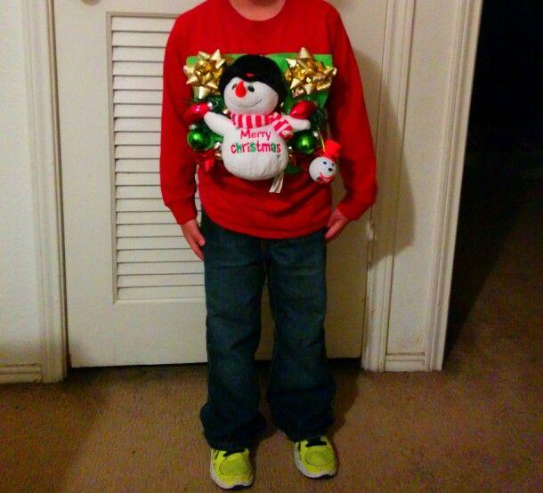 Ugly Christmas Sweater Kids