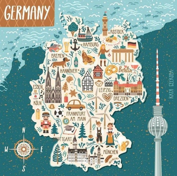 Pin By Luz Rueda On Chocolate Concepto Illustrated Map