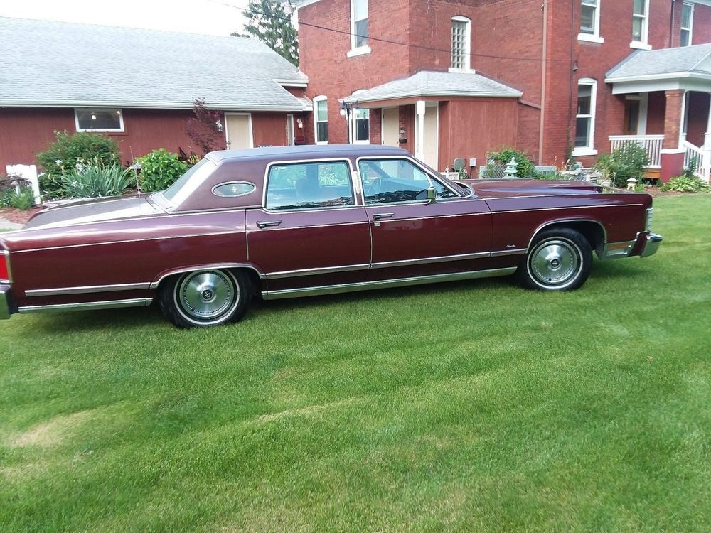1979 Lincoln Continental Town Car Used Cars Pinterest Cars