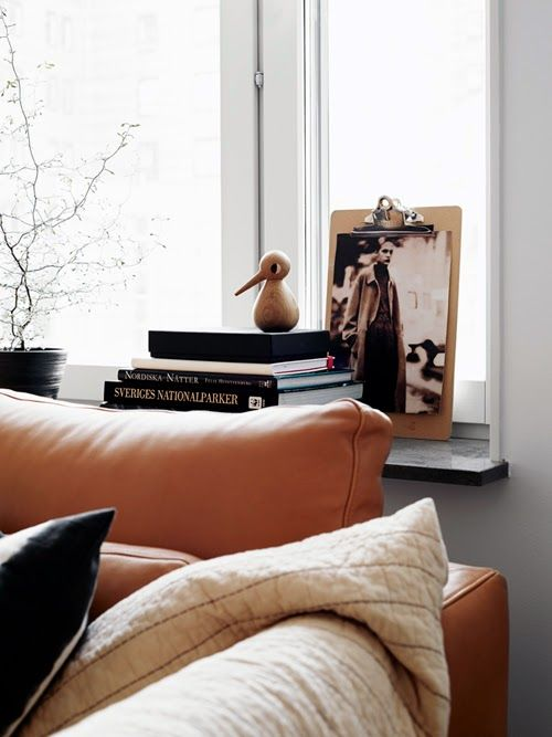 Home in brown and grey - via Coco Lapine Design
