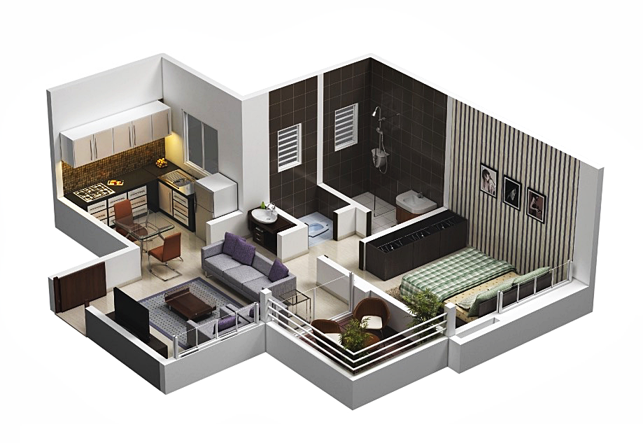 10 great plans for small apartment interior design | Small apartment ...