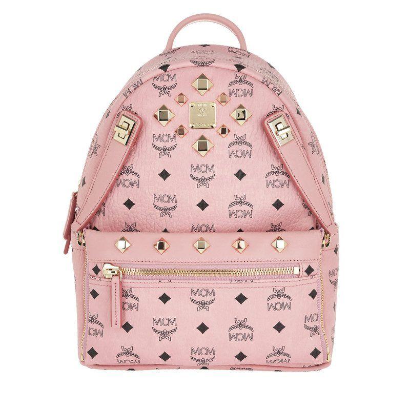 MCM MCM Tasche Dual Stark BackpackPouchette Visetos Soft
