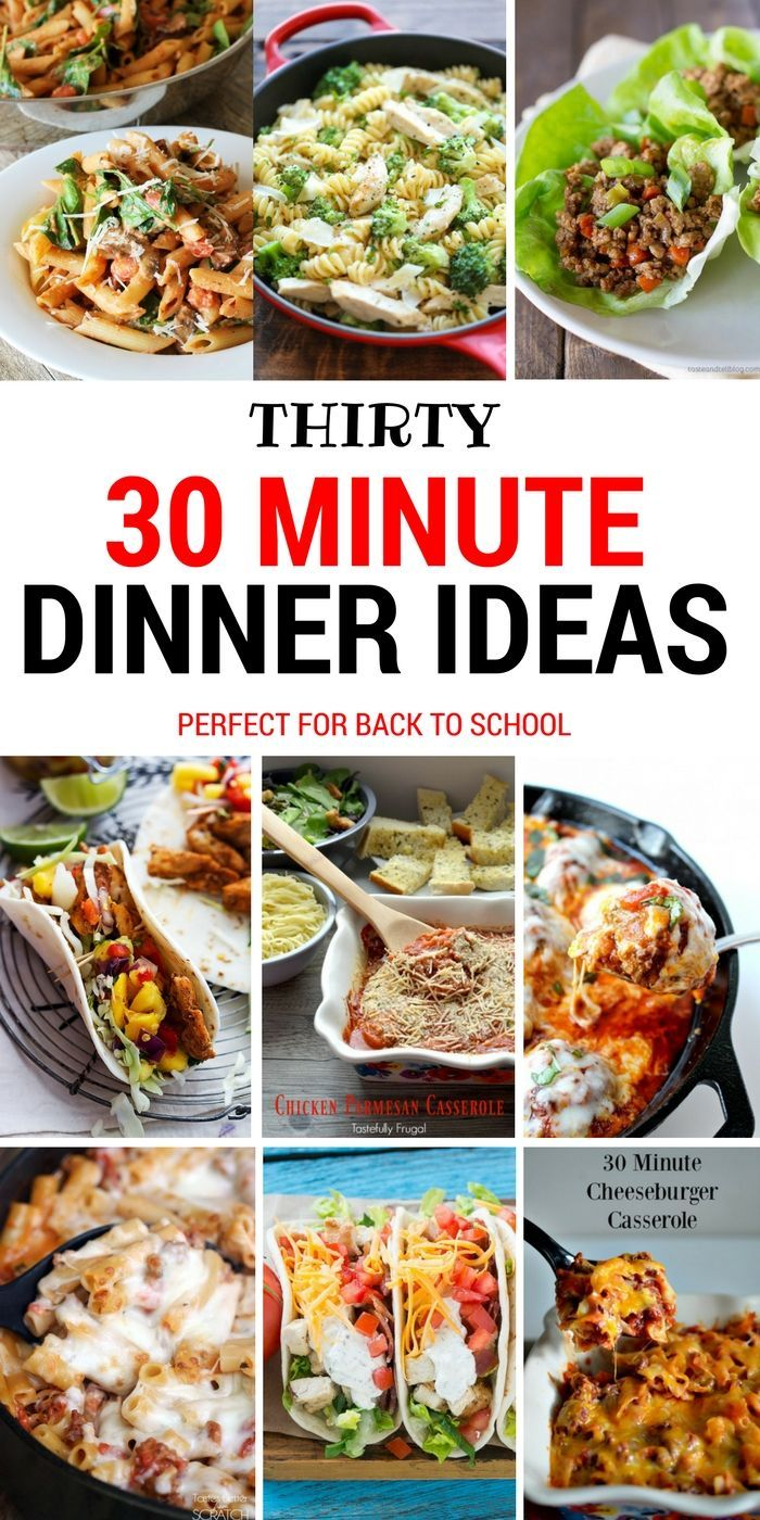 30 Easy Weeknight Dinners images