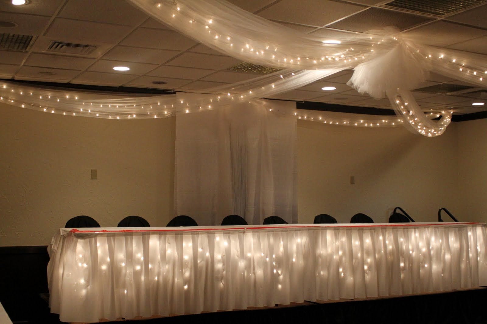 decorating ceiling with tulle | Uncategorized | Your Perfect Day\'s ...