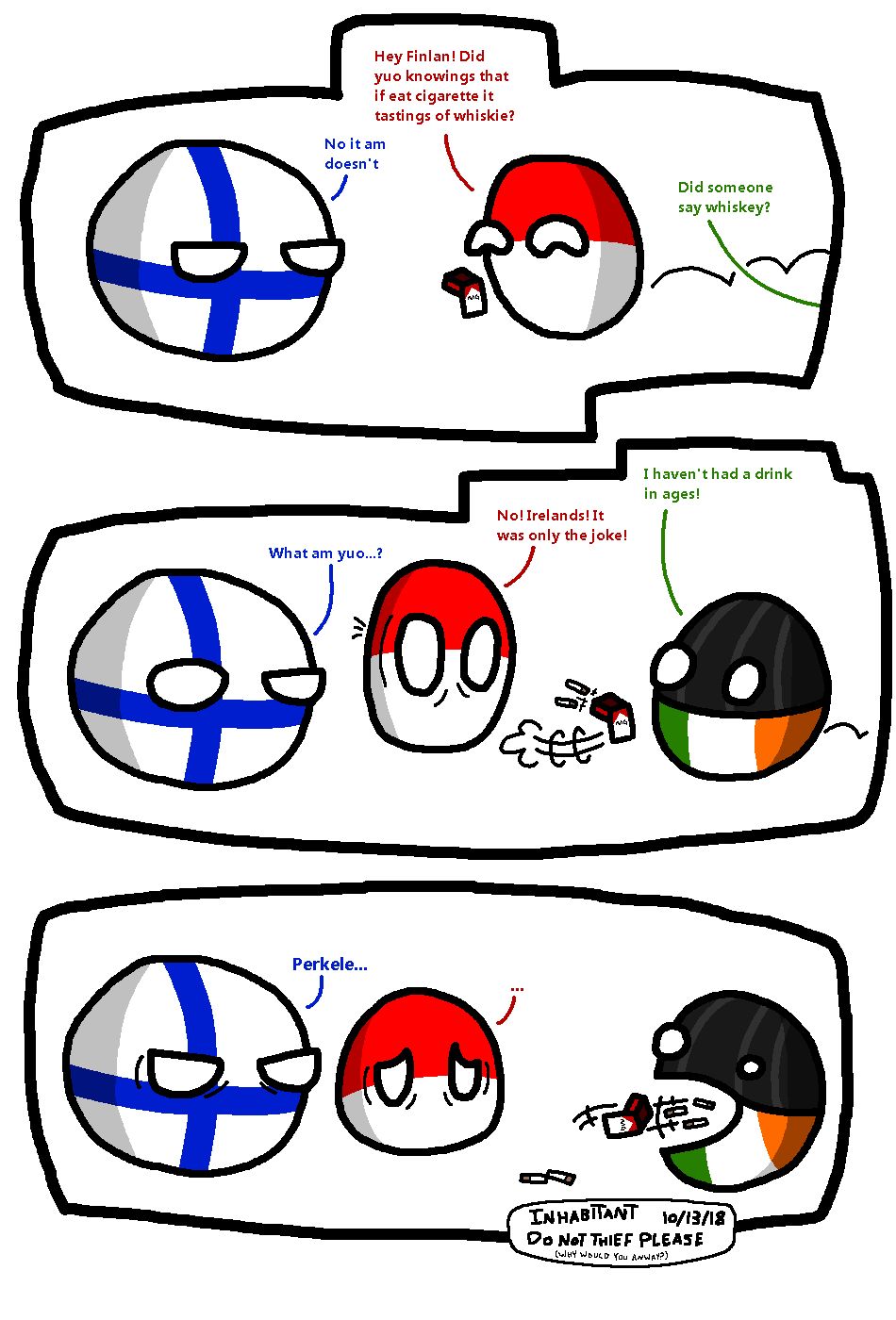 Different Between Ireland By Nanabusia63 On Deviantart