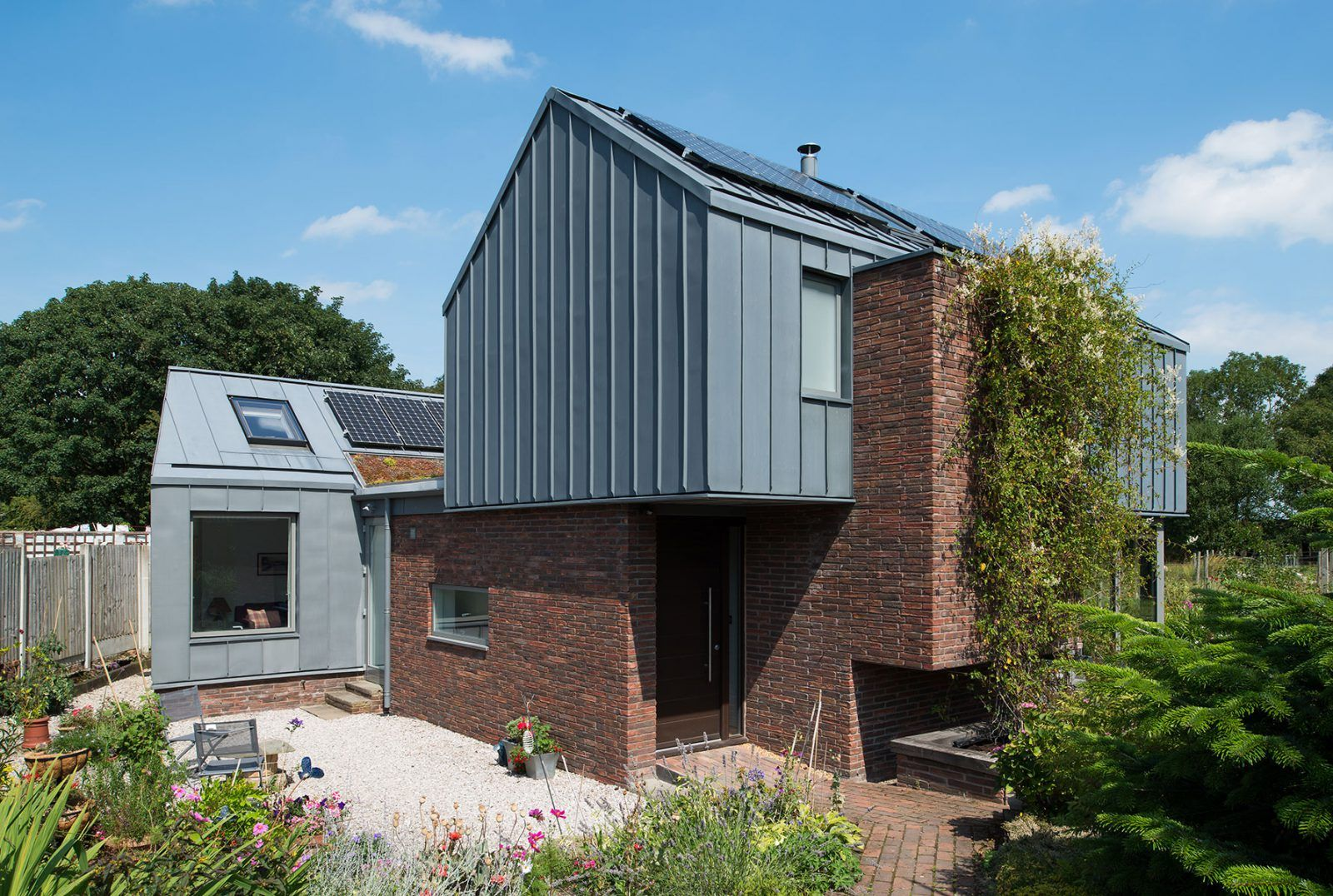 Zinc House New Build House Proctor And Shaw Architects In 2020
