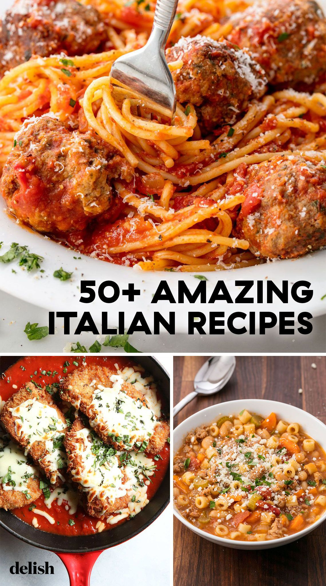 65 Italian Dinner Ideas That Ll Make You Feel Like You Re In Rome Italian Recipes Italian Dinner Recipes Italian Dinner