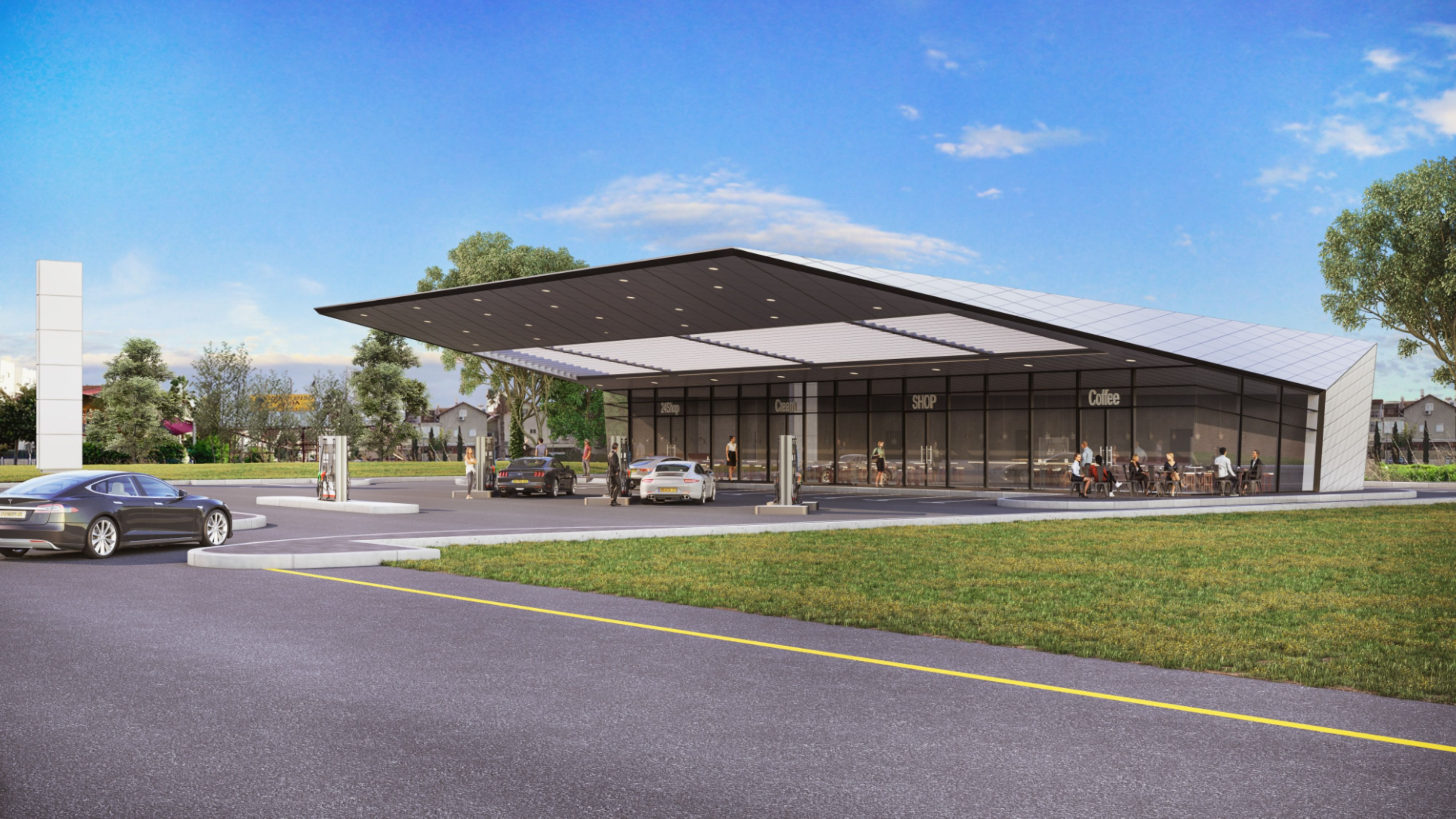 Modern Gas Stations In 2020 Architect Small Buildings Gas Station