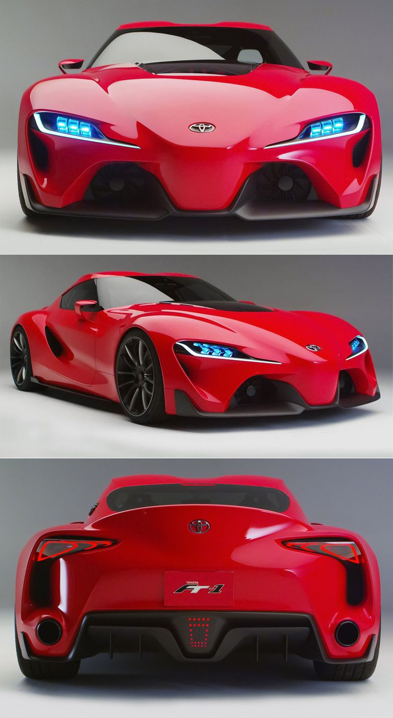 Toyota is quite keen on its excellent super coupe the ft a