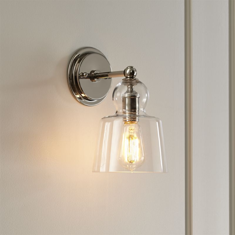 white o brien tob foundrylighting nickel com bryant in comfort product sconce with thomas visual polished glass modern wg
