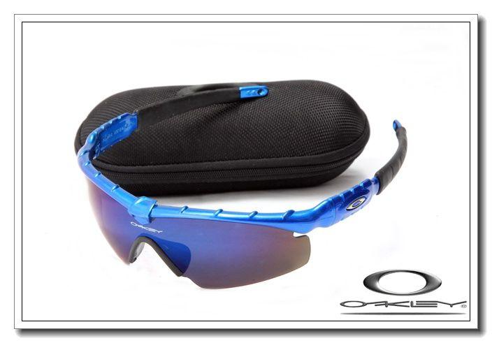 bf3c6e01321 ... hot buy discount oakley m frame sunglass 5936 blue frame blue lens sale  cheap from reliable usa fake oakleys ...