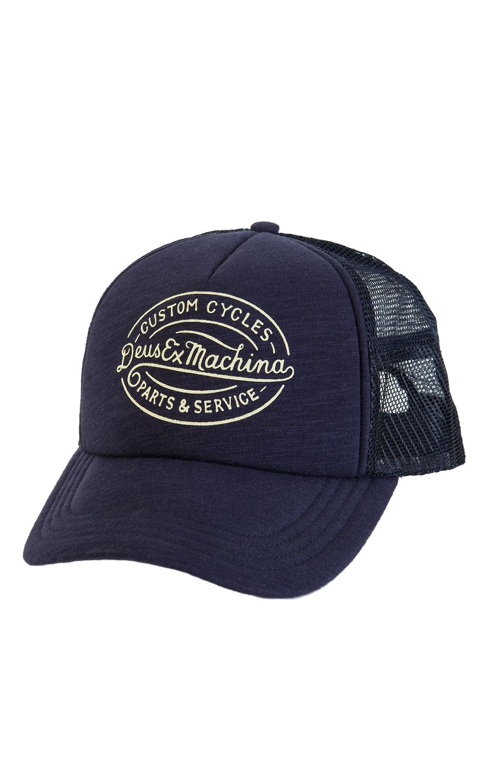 b2639939b0e Deus Ex Machina Mike Trucker Cap Navy
