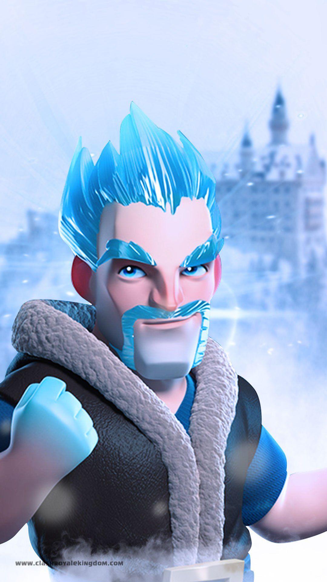 Ice King Clash Royale Wallpaper Clash Clans Clash Royale