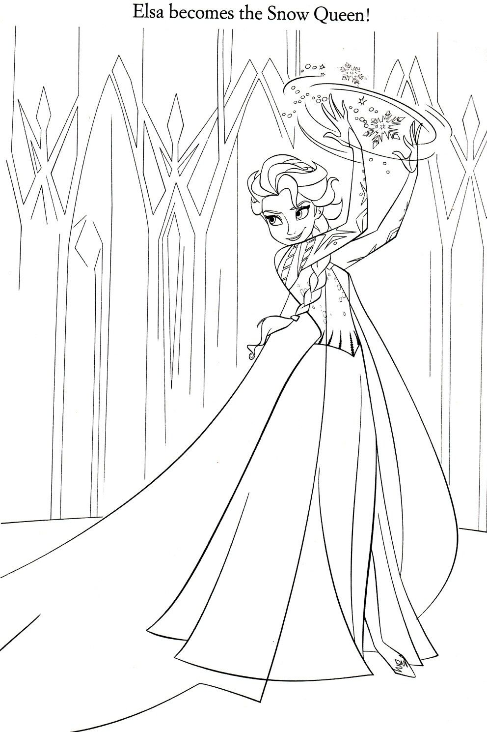 Pin by Katy K on Frozen/Frozen 2 Frozen coloring pages
