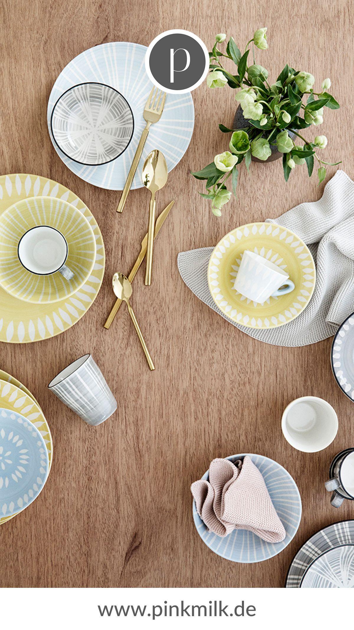 Bei vielen anstehenden Gartenparties ist ein tolles Geschirrs-Set ein absolutes Essential. Wähle zwischen vielen verschiedenen Marken und einzigartigen Designs um Deine Lieblinge zu finden und Dein Zuhause perfekt zu ergänzen.