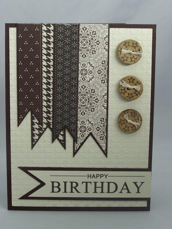 Stampin Up Handmade Happy Birthday Greeting By DawnsGreetingCards