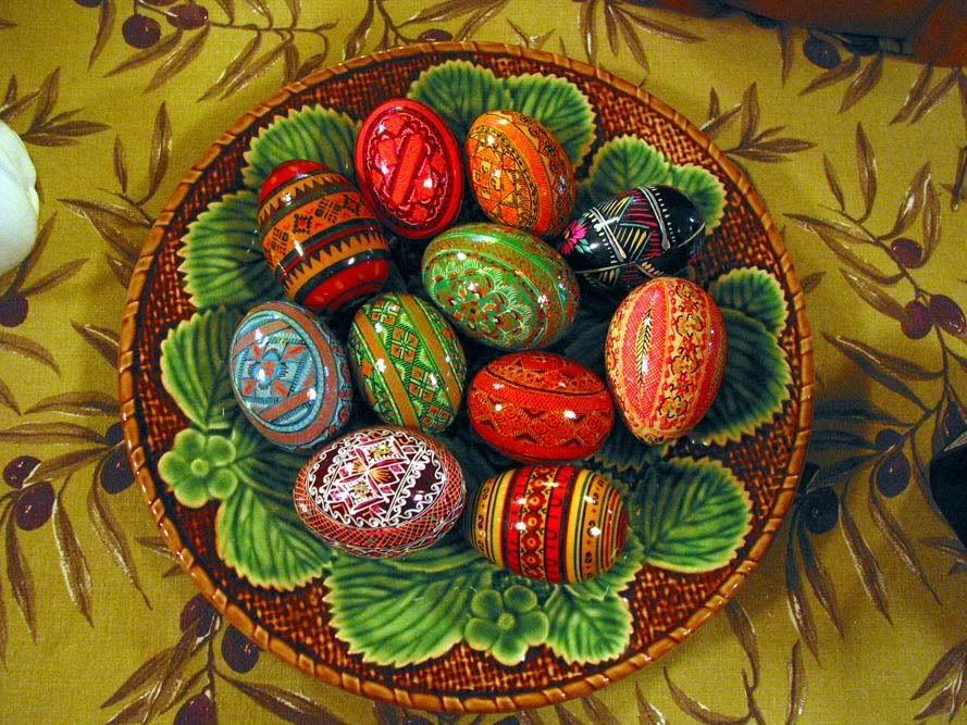 Russian Orthodox Eggs