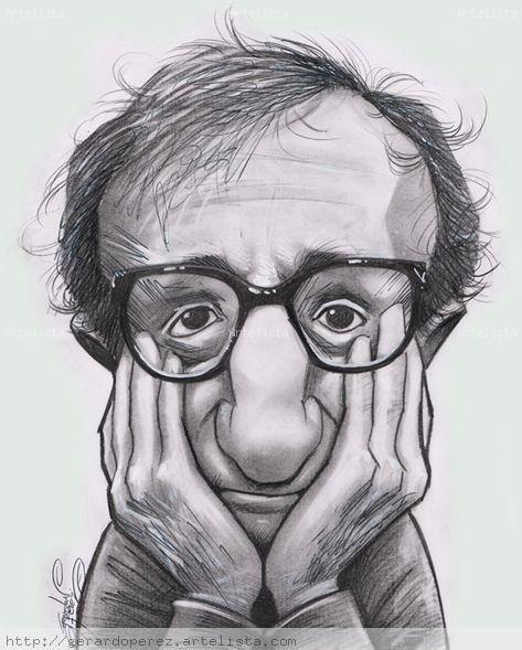 Caricature Woody Allen Cerca Con Google