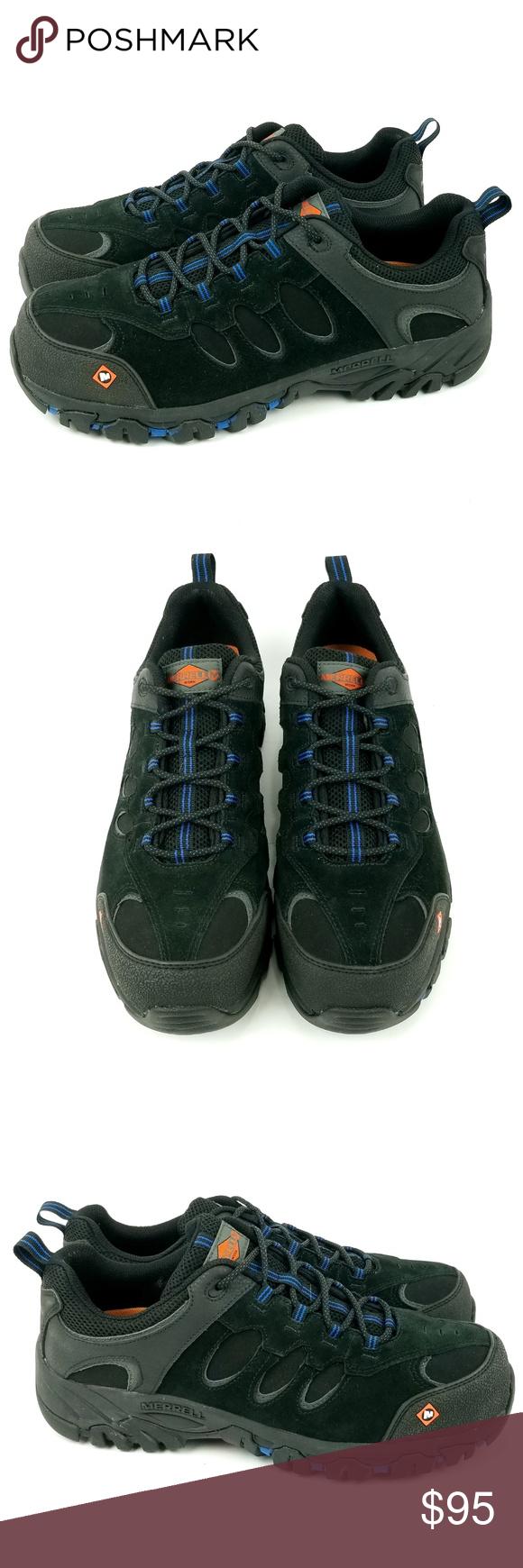 Merrell Ridgepass Safety Shoes Mens 11 EH07 Merrell Men's