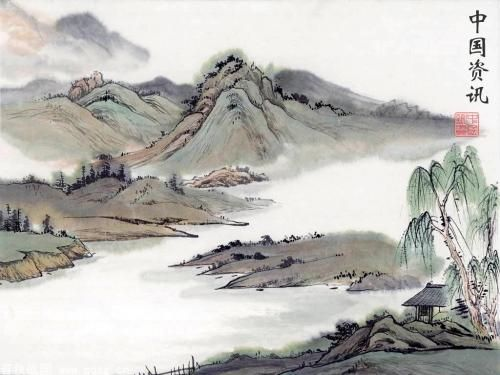Estampe Chinoise Estampes Chinoises Estampes Dessin Paysage