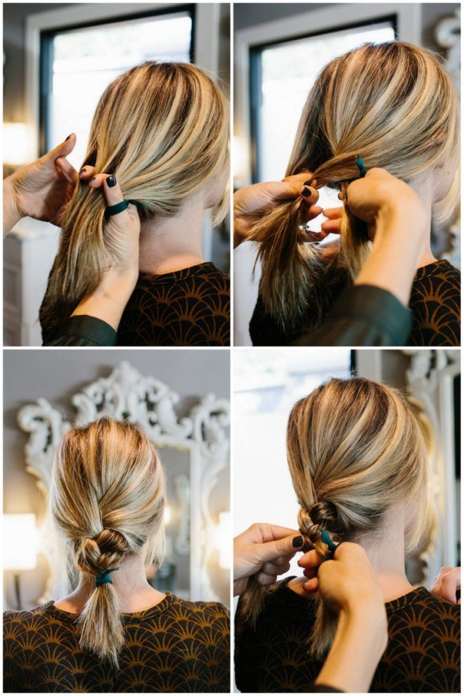 hair tutorial: how to create a thick, messy braid...