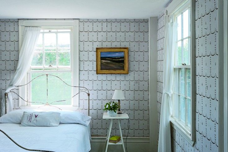Justine Hand's Cape Cod guest room, photograph by Matthew Williams | Remodelista