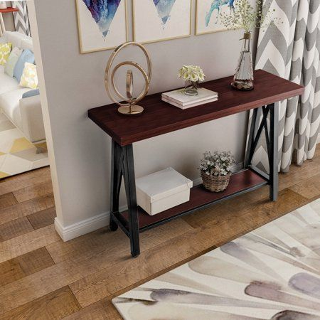 Cool Harperbright Designs Accent Console Sofa Table For Entryway Bralicious Painted Fabric Chair Ideas Braliciousco