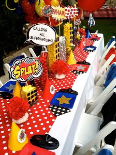 The Coop Superhero Party Decorations Superhero Theme Party
