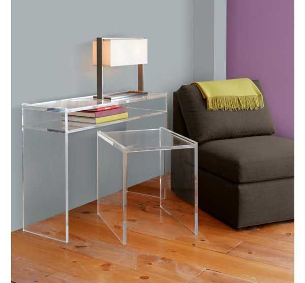 Lovely Lucite Coffee Table Ikea Side Table Bedside Table Metal