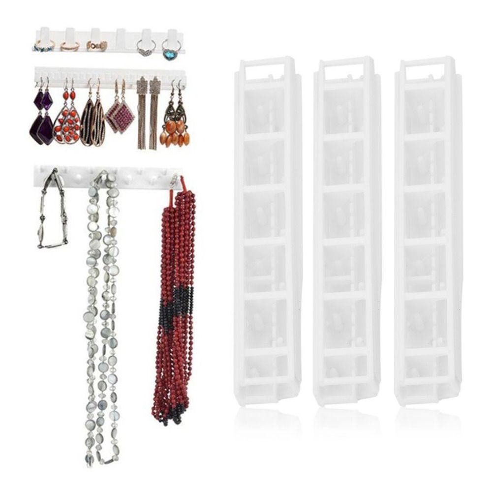 9Pcs Jewelry Wall Hanger Holder Stand Organizer Set Necklace Bracelet Earring