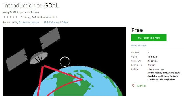 Coupon Udemy - Introduction to GDAL [Free] - Course Discounts & Free
