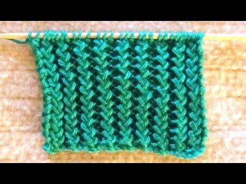 Cómo Tejer Bufanda de Lujo-Lace Scarf Knitting 2 Agujas (245 ...