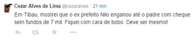 RN POLITICA EM DIA: TIBAU: CHEQUES DE R$ 7 MIL.
