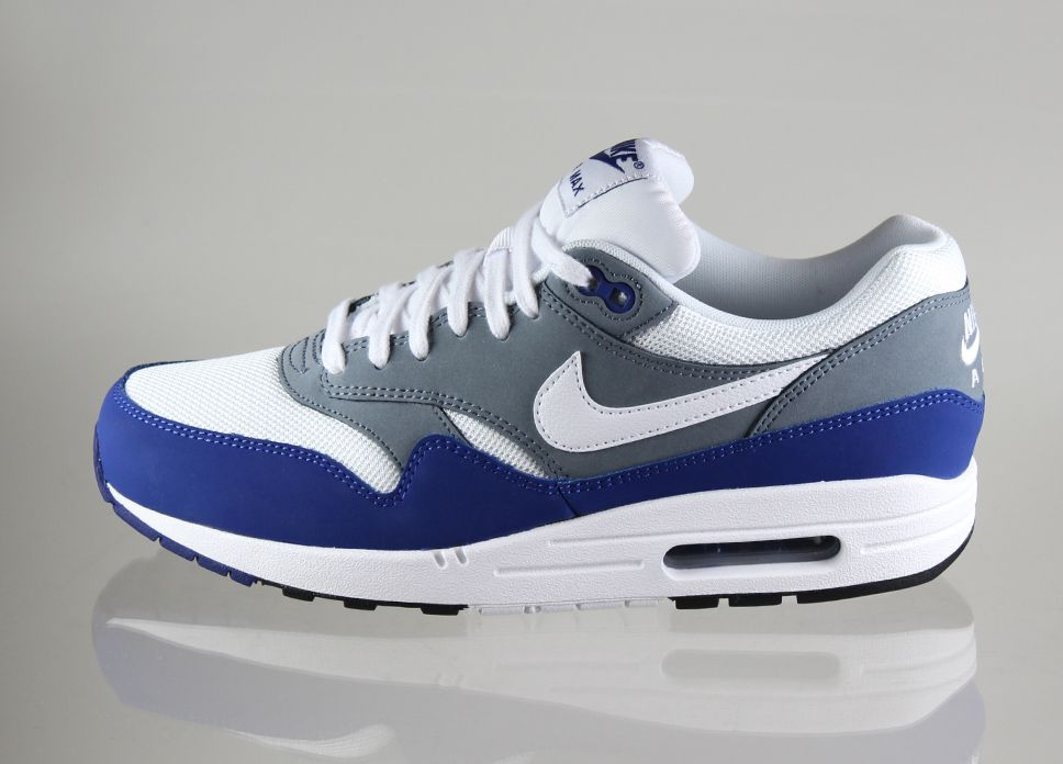 Nike Air Max 1 Essential (Deep Royal Blue / White - Armory Slate - Black