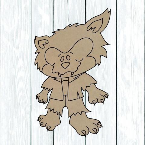 Niño lobo estaca
