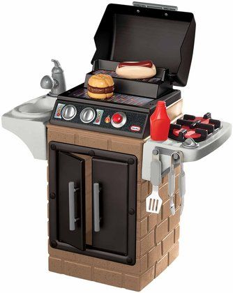 Little Tikes Get Out N Grill Love This For Our Boys When Dad Is Grilling Bbq Speelgoed Play
