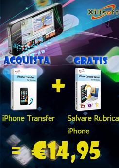 Acquista Xilisoft iPhone Transfer e ottieni Gratis Xilisoft Salvare Rubrica iPhonehttps://www.paypal.com/it/cgi-bin/webscr?cmd=_flow=_D_hi45eZDCUQeJWMetsFeM1r1rdG9PjEtUhEYF-Eq6Gjhzp7oCeLnZpu3W=50a222a57771920b6a3d7b606239e4d529b525e0b7e69bf0224adecfb0124e9b61f737ba21b0819882a9058c69cf92dcdac469a145272506