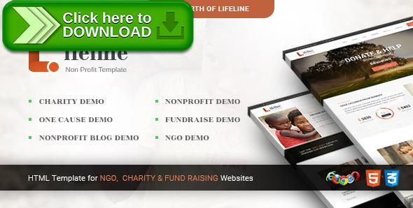 Free nulled Lifeline 2 - Multipurpose Non-profit HTML Template - profit template