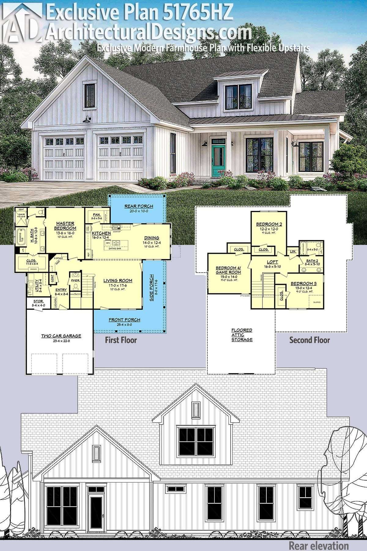 2 Story Modern Farmhouse Plans Beautiful 2 Story Modern Farmhouse Plans 4 Bedroom 2 Story Modern Farmhouse Plans House Plans Farmhouse Basement House Plans