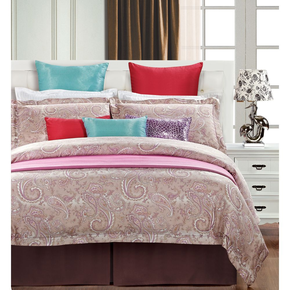 Wallace 3-Piece Cotton Duvet Cover Set - Overstock™ Shopping - Great Deals on Duvet Covers