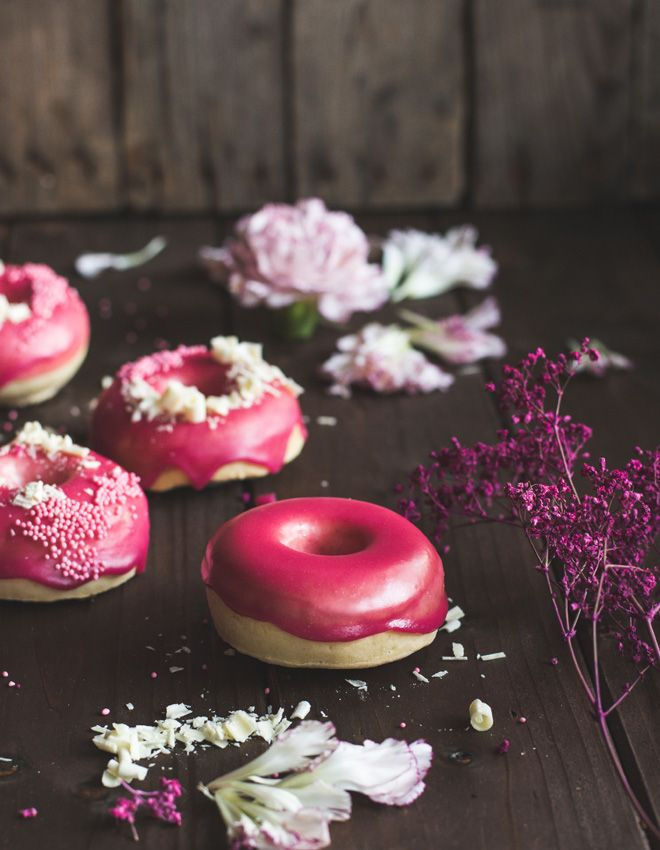 rezept f r fluffige vanille brioche donuts aus dem backofen chefkoch foodblogger pinterest. Black Bedroom Furniture Sets. Home Design Ideas
